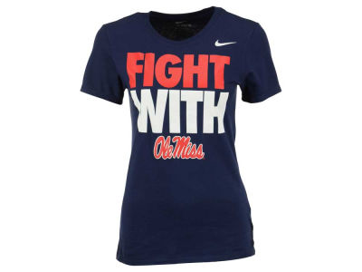 Ole Miss Rebels Nike NCAA Women's Cotton Go With T-Shirt