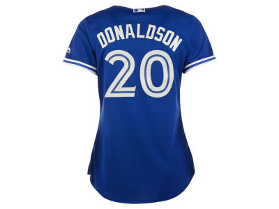 Toronto Blue Jays Josh Donaldson Majestic MLB Women's Cool Base Player Replica Jersey