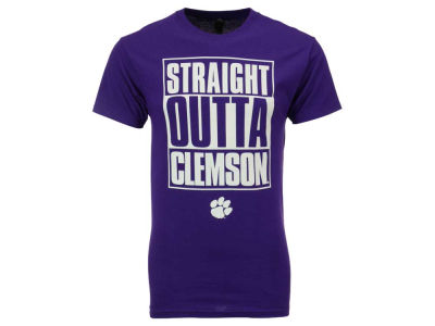 Clemson Tigers NCAA Men's Straight Outta T-Shirt