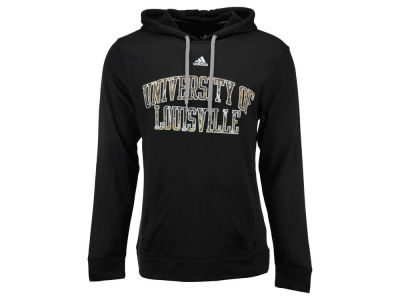 Louisville Cardinals adidas NCAA Men's Camo Hunted Ultimate Pullover Hoodie