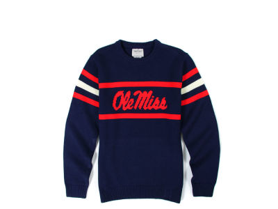 Ole Miss Rebels NCAA Men's Hillflint Mascot Sweater