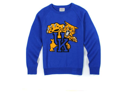 Kentucky Wildcats NCAA Men's Hillflint Mascot Sweater