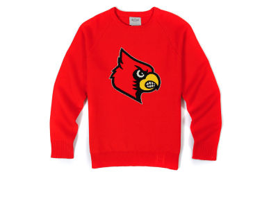 Louisville Cardinals NCAA Men's Hillflint Mascot Sweater