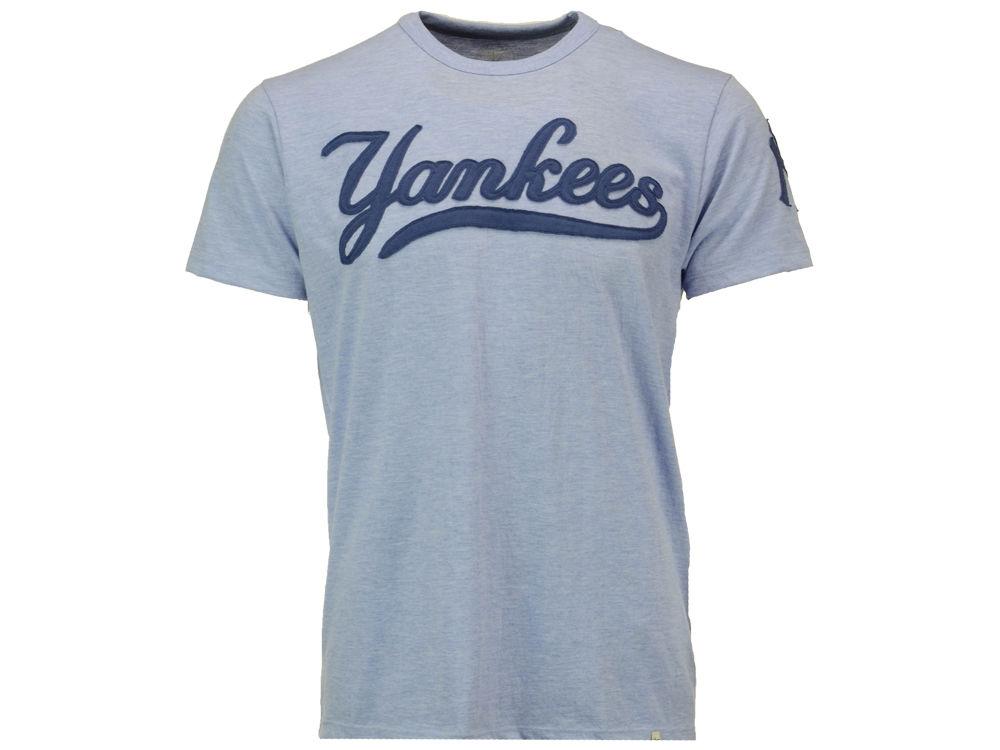 05c1df447 New York Yankees MLB Men s Crossover Fieldhouse T-Shirt