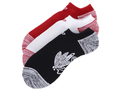 Chicago Blackhawks 3-pack Blade Motion No Show Socks