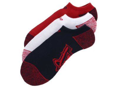 Los Angeles Angels '47 3-pack Blade Motion No Show Socks
