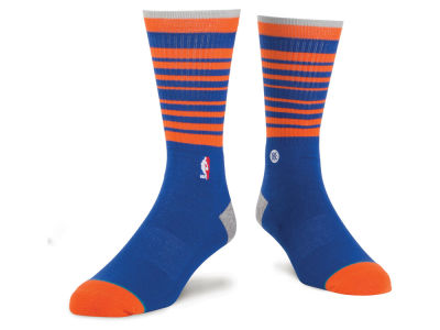 New York Knicks Stance NBA Arena Core Crew Sock