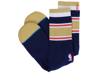 New Orleans Pelicans Stance NBA Arena Core Crew Sock