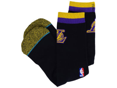 Los Angeles Lakers Stance NBA Arena Logo Crew Sock