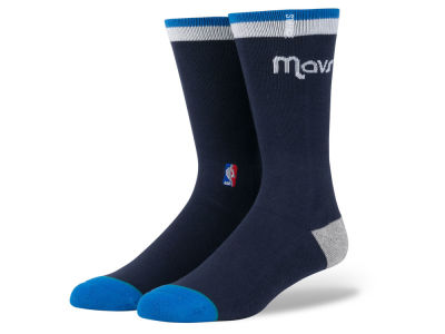 Dallas Mavericks Stance NBA Arena Logo Crew Sock