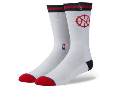 New Orleans Pelicans Stance NBA Arena Logo Crew Sock
