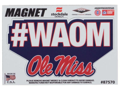 "Ole Miss Rebels 3"" Magnet"