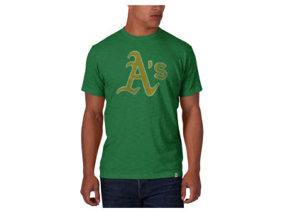 Oakland Athletics '47 MLB Men's Scrum Logo T-Shirt