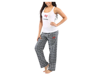 Tampa Bay Buccaneers NFL Women's Candid Flannel Tank Sleep Set
