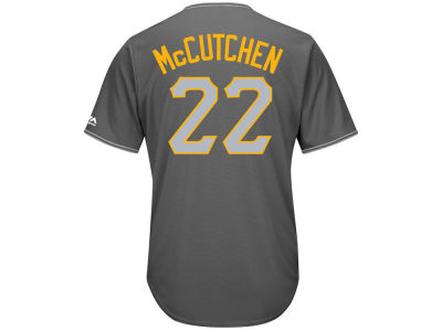 Pittsburgh Pirates Andrew McCutchen Majestic MLB Men's Platinum Cool Base Jersey