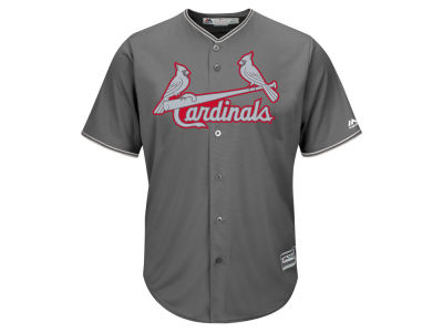 St. Louis Cardinals Majestic MLB Men's Platinum Cool Base Jersey