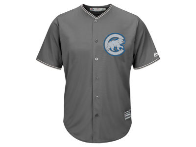 Chicago Cubs Majestic MLB Men's Platinum Cool Base Jersey