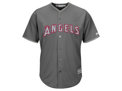 Los Angeles Angels Majestic MLB Men's Platinum Cool Base Jersey