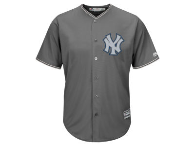 New York Yankees Majestic MLB Men's Platinum Cool Base Jersey