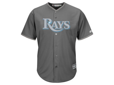 Tampa Bay Rays MLB Men's Platinum Cool Base Jersey