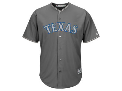 Texas Rangers MLB Men's Platinum Cool Base Jersey