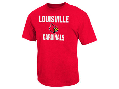 Louisville Cardinals NCAA Men's Trek Print T-Shirt