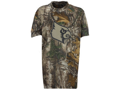 Louisville Cardinals NCAA Youth Realtree Brow Tine T-Shirt