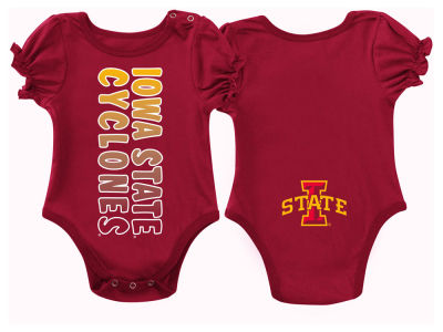 Iowa State Cyclones NCAA Newborn Girls Sunset Creeper