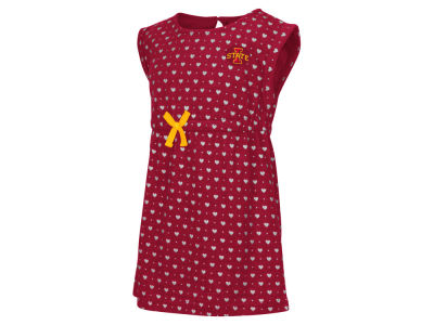Iowa State Cyclones NCAA Toddler Girls Heartbeat Dress