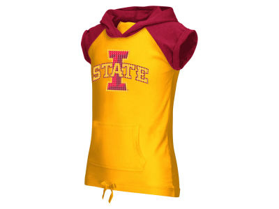 Iowa State Cyclones NCAA Youth Girls Jewel Short Sleeve Hoodie