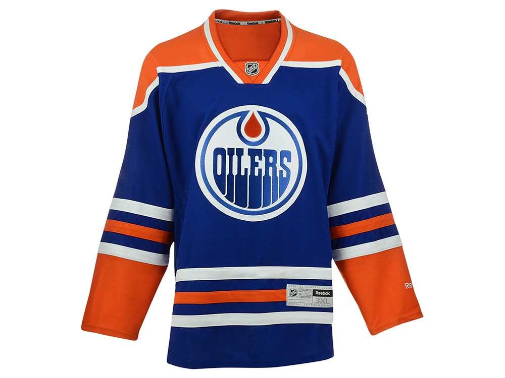 369aa602f Edmonton Oilers Reebok NHL Men s Premier 3XL-4XL Jersey