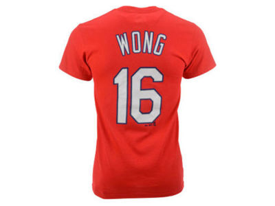St. Louis Cardinals Kolten Wong Majestic MLB Kids Official Player T-Shirt