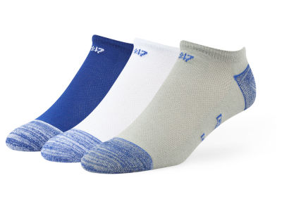 Kentucky Wildcats 3-pack Blade Motion No Show Socks