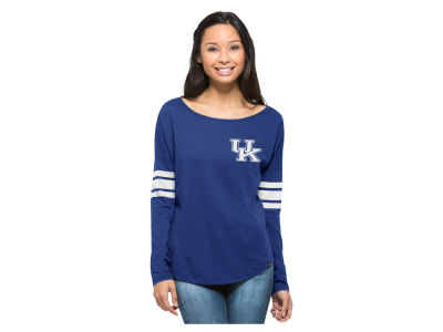 Kentucky Wildcats NCAA Women's Ultra Courtside Long Sleeve T-Shirt