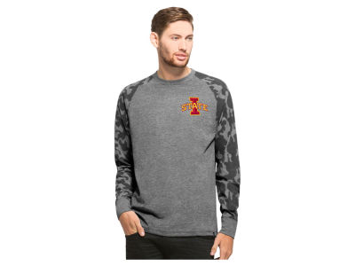 Iowa State Cyclones '47 NCAA Men's Recon Camo Raglan Crew Fleece