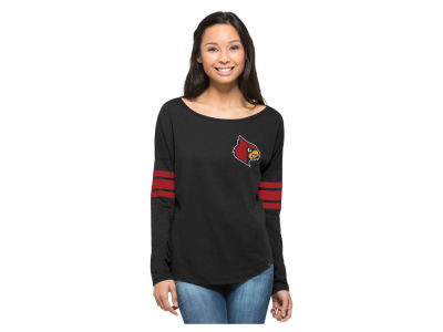 Louisville Cardinals '47 NCAA Women's Ultra Courtside Long Sleeve T-Shirt