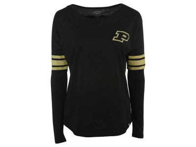 Purdue Boilermakers NCAA Women's Ultra Courtside Long Sleeve T-Shirt