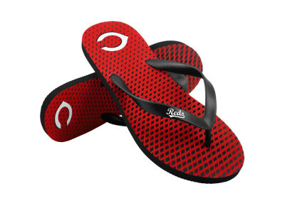 Cincinnati Reds High End Flip Flops
