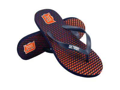 Detroit Tigers High End Flip Flops