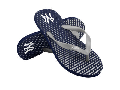 New York Yankees High End Flip Flops