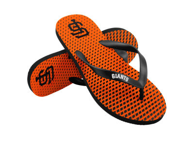 San Francisco Giants High End Flip Flops