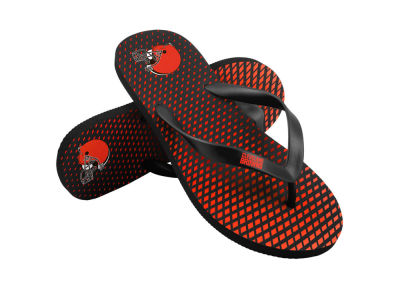 Cleveland Browns High End Flip Flops