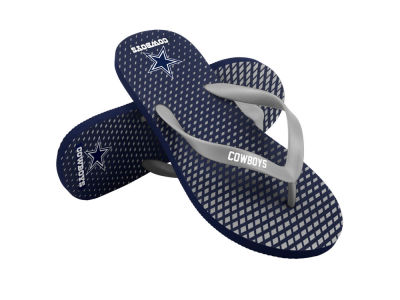 Dallas Cowboys High End Flip Flops