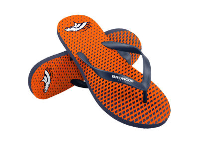 Denver Broncos High End Flip Flops