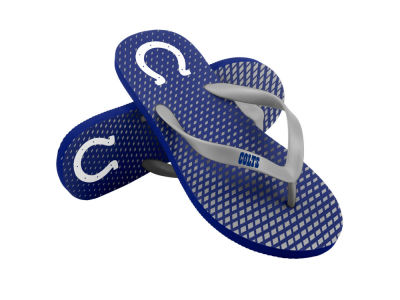 Indianapolis Colts High End Flip Flops