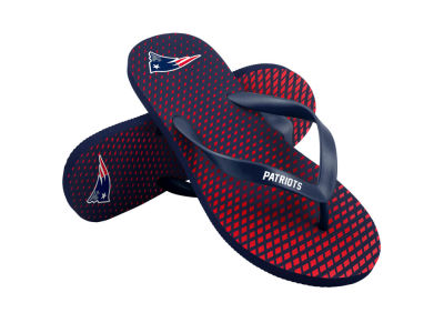 New England Patriots High End Flip Flops