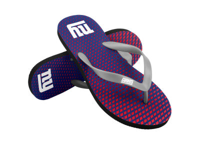New York Giants High End Flip Flops