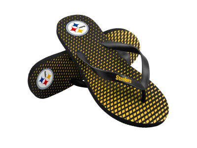 Pittsburgh Steelers High End Flip Flops