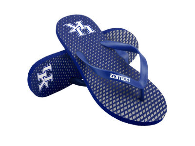 Kentucky Wildcats High End Flip Flops