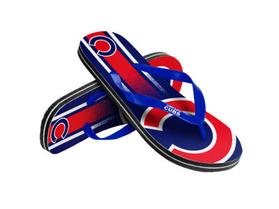 Chicago Cubs Youth High End Flip Flop